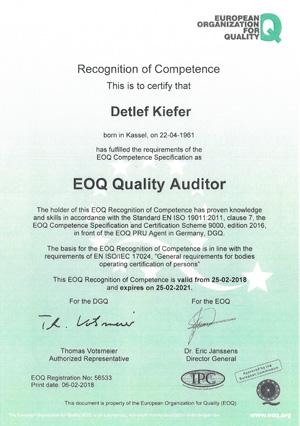 EOQ-Qualitätsmanager